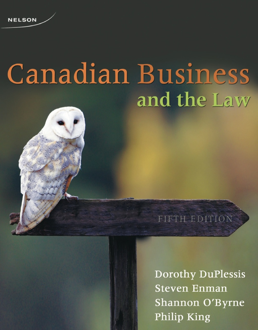 Canadian Business and the Law (ebook)