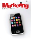 With its engaging presentation of concepts, MARKETING, Eleventh Edition, will give students the ability to recognize how much marketing principles play a role in their day-to-day lives