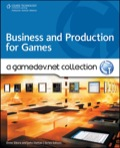 "Welcome to """"Business and Production for Games: A GameDev.net Collection,"""" the first in a series of books published in collaboration with GameDev.net, the online community where game developers worldwide can network and freely exchange information and ideas"