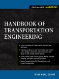 This is a comprehensive, problem-solving engineering guide on the strategic planning, development, and maintenance of public and private transportation systems