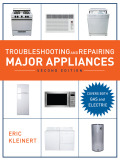 Use the Latest Tools and Techniques to Troubleshoot and Repair Major Appliances, Microwaves, and Room Air Conditioners! Now covering both gas and electric appliances, the updated second edition of Troubleshooting and Repairing Major Appliances offers you a complete guide to the latest tools, techniques, and parts for troubleshooting and repairing any appliance.Packed with over 200 illustrations, the book includes step-by-step procedures for testing and replacing parts… instructions for reading wiring diagrams… charts with troubleshooting solutions… advice on using tools and test meters..