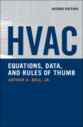 "The Latest Information and ""Tricks of the Trade"" for Achieving First-Rate HVAC Designs on Any Construction Job! HVAC Equations, Data, and Rules of Thumb presents a wealth of state-of-the-art HVAC design information and guidance, ranging from air distribution to piping systems to plant equipment"