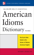 Understand American English better by mastering its idiomsThis authoritative reference offers thousands of American English idioms, common phrases, and colloquialisms