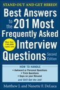 Best Answers to the 201 Most Frequently Asked Interview Ques