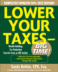 Completely revised and updated—the must-have resource for saving thousands of dollars at tax timeTaxes aren't just a nuisance; they're fast becoming the single biggest expense for the typical American household.Completely revised and expanded, Lower Your Taxes—Big Time! has everything taxpayers need to know about saving money on April 15—and every other day of the year.Sandy Botkin, a former IRS attorney, has saved hundreds of thousands of taxpayers hundreds of millions of dollars