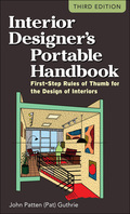 Pat Guthrie, author of The Architect's Portable Handbook, now turns his attention to interior design