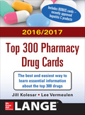 Mcgraw-hill's 2016/2017 Top 300 Pharmacy Drug Cards