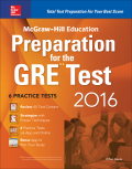 McGraw-Hill Education Preparation for the GRE Test 2016 9780071843591