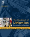The Handbook of Lithium-Ion Battery Pack Design: Chemistry, Components, Types and Terminology offers to the reader a clear and concise explanation of how Li-ion batteries are designed from the perspective of a manager, sales person, product manager or entry level engineer who is not already an expert in Li-ion battery design