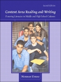 Content Area Reading and Writing: Fostering Literacies in Middle and High School Cultures 9780132999076R180
