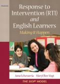 This newest resource,fromThe SIOP Model seriesauthors Jana Echevarria and MaryEllen Vogt,assists allmainstream teachers and administrators to design effective RTIprograms, using the SIOP Model, providing the appropriate type ofinstruction that English Learners need and deserve.Response to Intervention (RTI) andEnglish Learners: Making it Happen, written to assist teachersand administrators to better meet the needs of the increasing groupof English Learner students in U.S