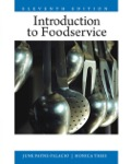 This is the eBook of the printed book and may not include anymedia, website access codes, or print supplements that may comepackaged with the bound book.For courses in Introduction toFoodservice Management and Introduction to Food and BeverageService.This 11th edition of a classic text hasbeen revised and updated to include the latest and mostrelevant information in the field of foodservice management