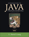 Introduction to Java Programming, Comprehensive Version 9780133464726R180
