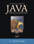 Introduction to Java Programming, Brief Version 9780133558180R180