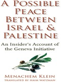In 2003, after two years of negotiations, a group of prominent Israelis and Palestinians signed a model peace treaty