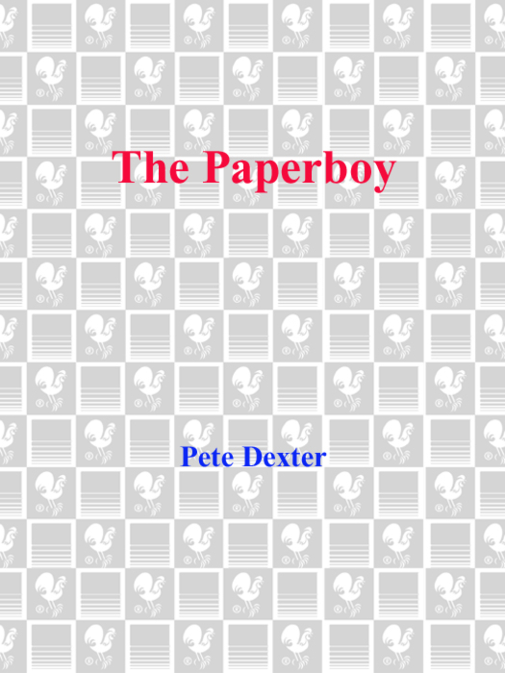 The Paperboy (ebook) eBooks