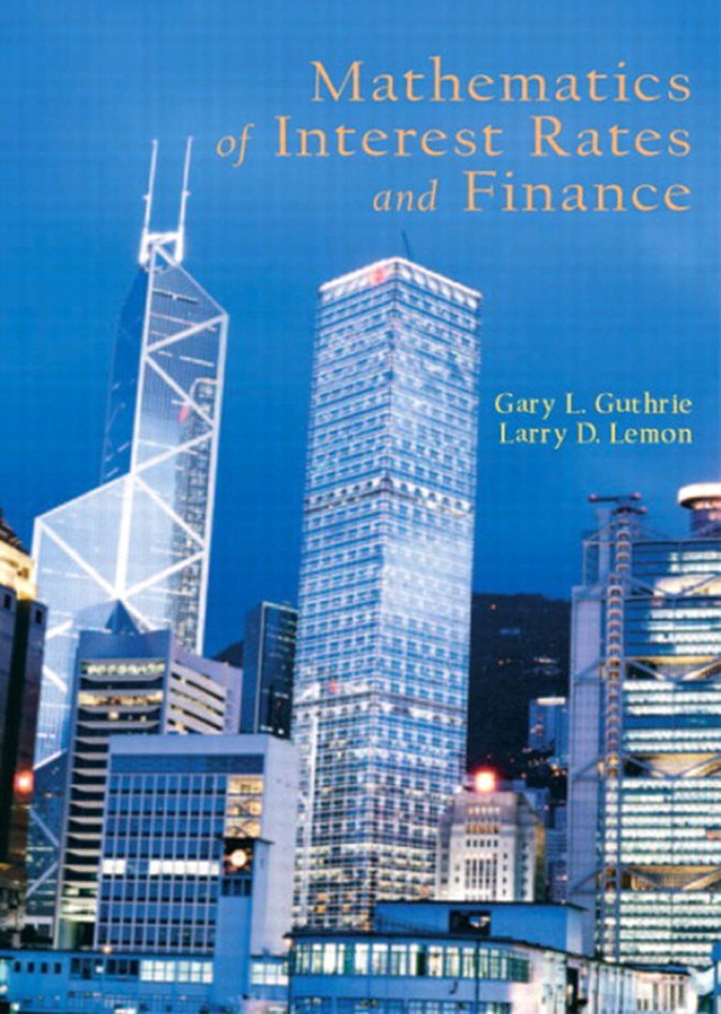Mathematics of Interest Rates and Finance (ebook)