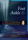Written for the busy orthopaedics resident who needs to review for an exam or prepare for a challenging clinical case, CORE KNOWLEDGE IN ORTHOPAEDICS: FOOT AND ANKLE offers cutting edge clinical and surgical pearls in a bulleted and templated format.Chapters composed of summary tables, boxes and bulleted lists-very little narrative textChapter on foot examination techniquesChapters edited with content level and pedagogy in mindOrganized by disorderTwo-color design
