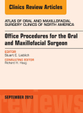 Dr. Stuart Lieblich is guest editor of this issue devoted to expanded office procedures. This highly illustrated surgical atlas will include articles on surgical uprighting of second molars, skeletal anchorage techniques, socket/buccal plate preservation with rBMP, office management of BRONJ, surgically facilitated orthodontics, dentoalveolar trauma, and orthodontic eruption of impacted teeth.