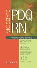 Find essential nursing information at a glance! Mosby's PDQ for RN: Practical, Detailed, Quick, 4th Edition is an easy-to-use, pocket-sized guide to important facts, formulas, and procedures used in the clinical setting