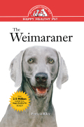 Popularized by the American photographer William Wegman, the Weimaraner is a classy, elegant sporting breed whose silvery coat is a real eye-catcher