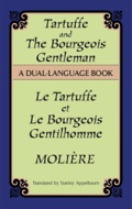 Tartuffe, a 1664 verse comedy concerning a scoundrel who impersonates a holy man, and The Bourgeois Gentleman, a 1670 prose farce about the superficial characteristics of Parisian nobility