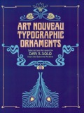 Art Nouveau Typographic Ornaments