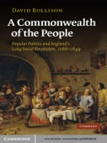 This book argues that the succession of crises from the Norman Conquest to the English Revolution were causal links and chains of collective memory in a populist movement which saw state institutions and elites made answerable to a greater community that was once called 'commonwealth' but is now called 'society'.