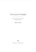 The Country of Football 9780520958258