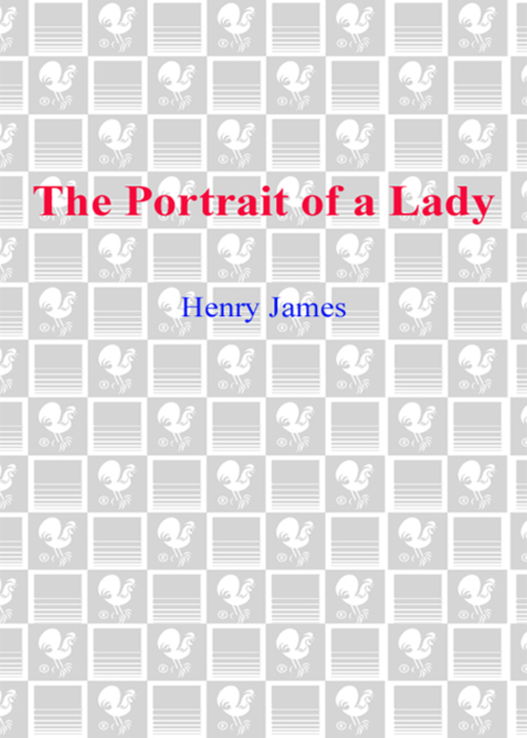 The Portrait of a Lady (ebook) eBooks