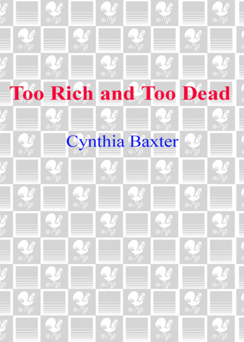 Too Rich and Too Dead (ebook) eBooks