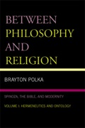 In Between Philosophy and Religion Volumes I and II, Brayton Polka examines Spinoza's three major works_on religion, politics, and ethics_in order to show that his thought is at once biblical and modern