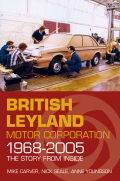 This book tells the story of the constituent parts of British Leyland, later Rover Group, from the merger in 1968 to the end of production of the last MG Rover in 2005
