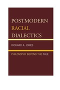 Postmodern Racial Dialectics: Philosophy Beyond The Pale