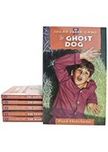 This set includes books 25-30 in the Sugar Creek Gang Series: The  Ghost Dog, The White Boat Rescue, The Brown Box Mystery,  The Watermelon Mystery, The Trapline Thief, and The Blue Cow.In  The Ghost Dog,