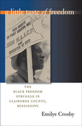In this long-term community study of the freedom movement in rural, majority-black Claiborne County, Mississippi, Emilye Crosby explores the impact of the African American freedom struggle on small communities in general and questions common assumptions that are based on the national movement
