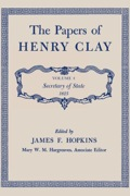 """This fourth volume in the ten-volume series covers the career of Henry Clay during his first year as Secretary of State in the cabinet of President John Quincy Adams.Within a month after taking office, Henry Clay described the Department of State as """"no bed of roses."""" Even though routine papers bearing his signature have been omitted by the editors, the 950 pages of documents included in this volume show that many duties filled Clay's days and nights"""