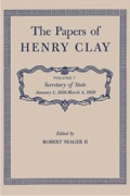 The Papers of Henry Clay span the crucial first half of the nineteenth century in American history
