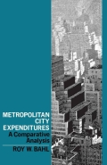 In this study of the structure of core city expenditures, Mr