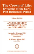 As the population of retirees between the ages of 65 and 75 continues to grow, professionals, researchers, and educators in all areas of the health care and the business sectors will require more expertise on the latest trends to make better decisions and improve systems.Contributed by nationally recognized experts, The Crown of Life: Dynamics of the Early Post-Retirement Period presents some of the most important and current decision-making research describing life between the ages of 65 and 75
