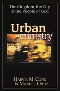 No. 3 in the 2002 Academy of Parish Clergy Top Ten Books of the Year!Cities--the anvil of civilization, the center of power, the metaphor for society itself--have been with us for thousands of years. Here converge piety and trade, security and politics. Yet just two hundred years ago only 3 percent of the world's population lived in cities. Today half does.  Despite this tremendous explosion of urban growth, the work of the church has generally lagged behind. The city presents serious challenges that cry out for answers: poverty, racism, human exploitation and government corruption. How can the church move ahead in the midst of these demands with the gospel of hope? Here, in one comprehensive volume, Harvie Conn and Manuel Ortiz, two noted scholars and proven practitioners of urban ministry, address the vital work of the church in the city. Their dual goal: to understand the city and God's work in it.Through four great waves of development, Conn and Ortiz trace the history of the city around the world. Then they tackle the critical issue of a biblical basis for urban mission. How does the Bible view the city? Are we closer to God in the country than the city? Does the Bible have an anti-urban bias? These questions are given a thorough analysis that unveils God's urban mandate as reflected in both Old and New Testaments.From this foundation the authors unpack the multifaceted nature of the city as place, as process, as center, as power, and as a place of change and stability. They move us beyond fragmented stereotypes to a new way of seeing that is holistic enough for a fully biblical ministry to develop. In addition, Conn and Ortiz lay out what the social sciences have to offer urban mission, including ethnographic and demographic studies. While showing how such studies have identified unreached cities and unreached groups within cities, they do not become captive to research but demonstrate how to keep kingdom priorities in view.Finally, Urban Ministry focuses on t