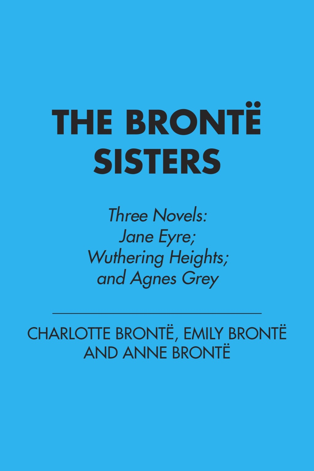 The Bronte Sisters (ebook) eBooks