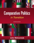 The Seventh Edition of COMPARATIVE POLITICS IN TRANSITION combines a thematic framework with a country-by-country approach to provide a thoughtful and effective introduction to Comparative Politics that is appropriate for students new to the study of political science