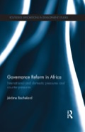 Poor governance is increasingly recognized as the greatest impediment to economic development in Sub-Saharan Africa