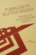 Volume 15 of Progress in Self Psychology conveys the rich pluralism of contemporary self psychology with respect to a central theoretical and clinical issue: the nature of the self and the manner in which is can best be studied.