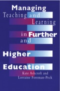 Managing Teaching and Learning in Further and Higher Education 9781135398378R90