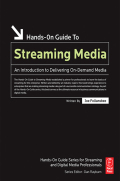 This book describes the steps for creating an on-demand and live streaming video in an all-in-one refernce guide for new users and companies that need introduced to the technology.After reading this book, you will understand:- How the Internet works in relation to streaming media- Client/server technology, specifically related to streaming media- Strengths and limits of streaming media, including best uses for the technology- Choices of streaming media content creation tools