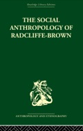 This is the first collection of Radcliffe-Brown's work chosen to represent his books as well as his essays