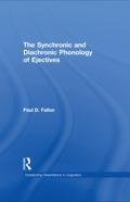 This study is the first book-length examination of ejectives and their phonological patterning, deepening the empirical understanding of ejectives and contributing to both phonological theory and to typologies of sound change.