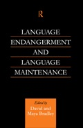 Language Endangerment And Language Maintenance